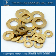 Yelllow Brass Flat Washers