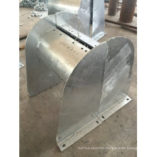 OEM Hot DIP Galvanized Metal Fabrication Parts for Elevator Cable Case