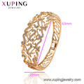 52167 xuping mujeres brazaletes de cobre ambiental 18k chapado en oro