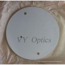 Lente de piezas de vidrio óptico
