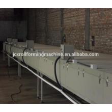 Línea de producción de baldosas de acero con recubrimiento de piedra