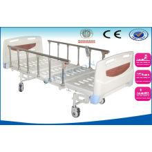Cold Rolled Steel Frame Folding Electric Hospital Beds For Handicapped
