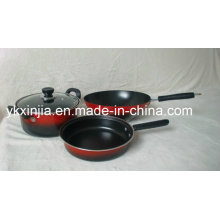 Colorful Carbon Steel Kitchenware Set/Cookware Set with Non-Stick Coating