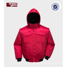 Ropa de trabajo de alta calidad multifunción chaqueta de invierno con capucha de trabajo profesional de los hombres