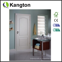Porta interior em HDF moldada com primer branco (porta HDF)