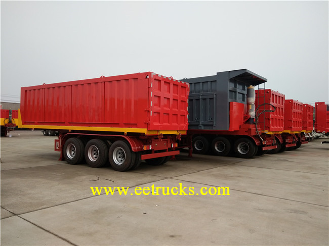 80 Ton Tipper Semi Trailer
