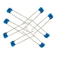 Condensador de mica 500V color azul 500V