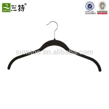 Soft-touch flock underwear hanger