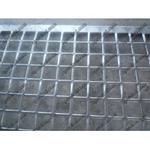 Maillot carré perforé (acier plat galvanisé)