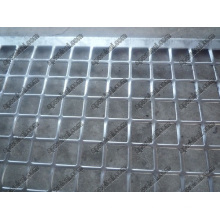 Punched Square Mesh (Galvanized Plain Steel)