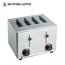 Haute qualité commerciale 2/4/6 automatique sans fil industriel pain Hot Dog Grille-pain Slice