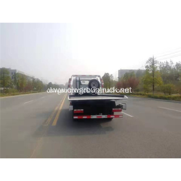 3ton 4ton flatbed towing wrecker truck