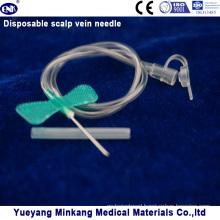 Disposable Scalp Vein Needle 21g (ENK-TPZ-016)