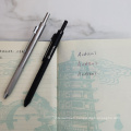 Andstal 1mm 3coloros Ballpoint pen 0.5mm 1 Pencil in One metal Multifunctional Pens For School supplies