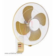 16 '' con 4 Metal Blade Potente ventilador de pared
