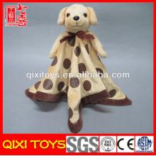 детское одеяло производители Китая собака фаршированные плюшевые одеяло головой животного