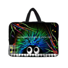 Piano Design Neoprene Laptop Case with Handle (SNLS11)