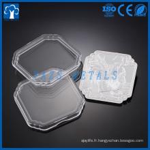 miroir brillant personnalisé or métal argenté souvenir