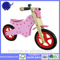 high quality run bike wooden children bicycle
