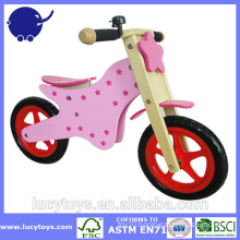 high quality run bike wooden children bicycle