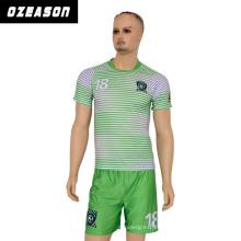 2017 Personalizado Sportswear Atacado Homens Sublimação Soccer Jersey (S001)