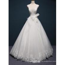 Heißer Verkauf Spitze Bodenlangen Braut Brautkleider