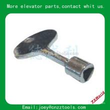 Mitsubishi Schindler Triangle Lock Key Elevator parts Mitsubishi Schindler Triangle Lock Key elevator door key lock