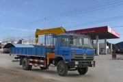 Dongfeng 180HP 7 Tons Cargo Crane Truck