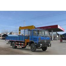 Dongfeng 180HP 7 tonnes de camion de grue de cargaison