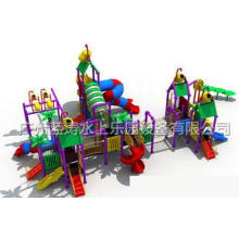 Water Play Equipment Children Water Slide For Water Amuseme