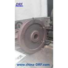 Forjadura de la rueda del vehículo del carril, rueda de la forja