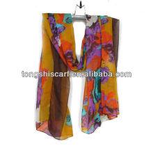 модный желтый весна лето шарф