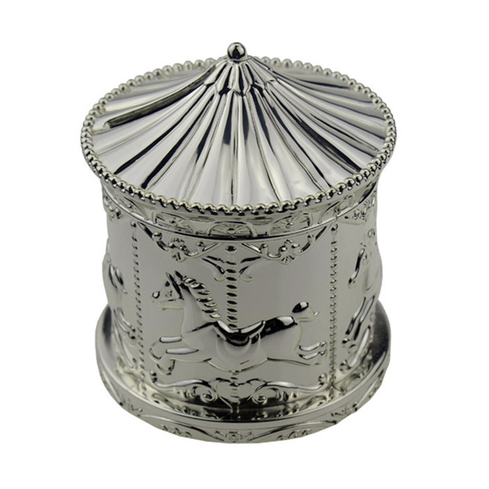 delicate high-end merry-go-round coin bank
