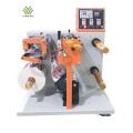 Máquina rebobinadora de corte longitudinal de papel de alta velocidad