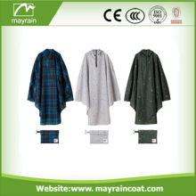 Custom High Quality Rain Poncho Waterproof Polyester Bicycle Raincoat