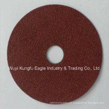 Resina con fibra Kexin óxido de aluminio amoladora disco de lijado