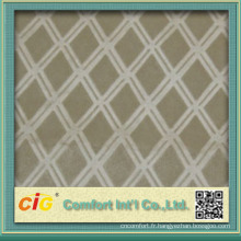Tissus de tapisserie d'ameublement automatiques utiles utiles de nouvelle conception de polyester pour le siège de voiture
