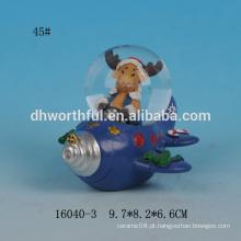 Venda por atacado 2016 presentes do Natal, esfera da água do Natal, globos da água dos cervos