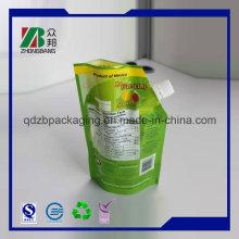 Waschmittel Chemische Beutel mit Auslauf, Pet Ny PE 15 Micron Washer Liquid Packaging