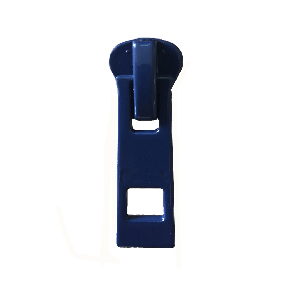 Metal Brass Blue Zipper Autolock Custom Slider