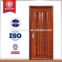 Puertas clasificadas de la resistencia de fuego de encargo, sola puerta interna del fuego de la madera del oscilación