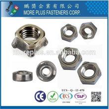 Taiwan Aluminium en acier inoxydable Auto-couleur DIN standard DIN 928 Noeuds carrés