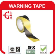 Cinta de advertencia de PVC barato resistente al envejecimiento de alta calidad