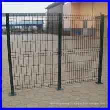 Clôture en treillis métallique professionnel de 20 ans / clôture de jardin