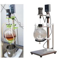Reator de cristal de la mejor venta TOPTF-50L para líquido separado y extracción