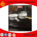 Casserole à vaisselle en porcelaine émaillée