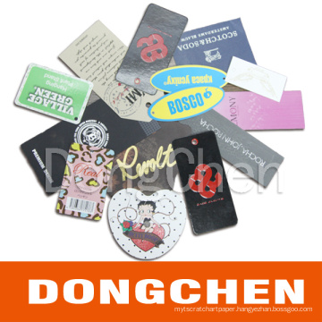 Swing Tag for Cloth/ Shoe/ Luggage (DC-TAG011)