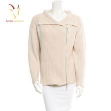 Patrones de tejer mujeres abrigo de lana de cachemira abrigo mujeres 2016