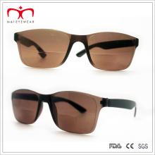 Clásico y caliente ventas lentes bifocales gafas de sol de plástico (wrp504209)