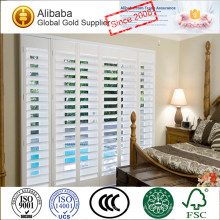 Exceptional Quality with Competitive Price of Customized Stained Plantation Shutters Exterior